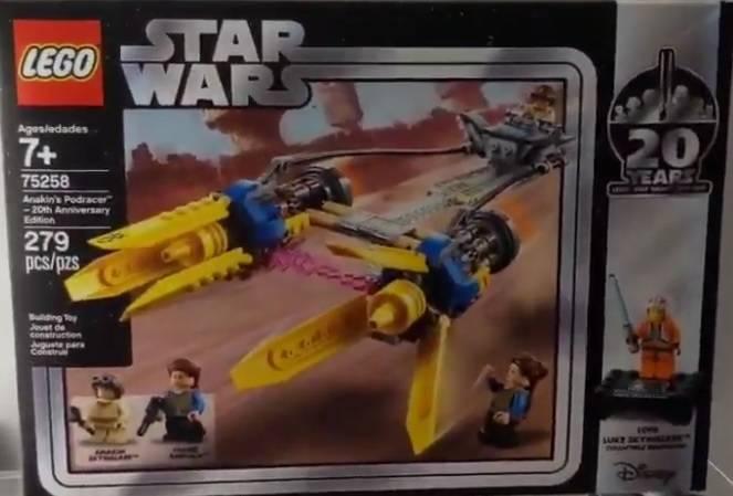 LEGO-Star-Wars-Anakins-Podracer-20th-Anniversary-Edition-75258
