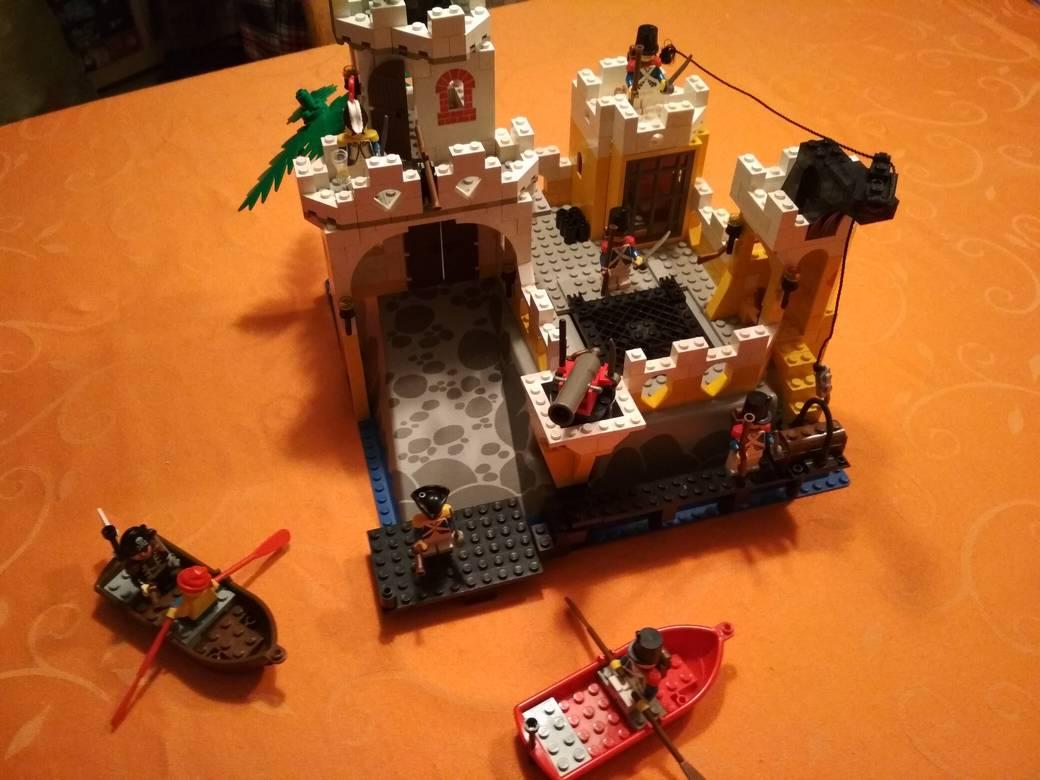 Lego Eldorado Festung 6276 fertig aufgebaut 1