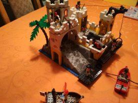 Lego Eldorado Festung 6276 fertig aufgebaut 2