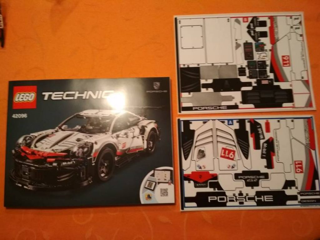 Lego Technic Porsche 911 Rsr 42096 Testbericht
