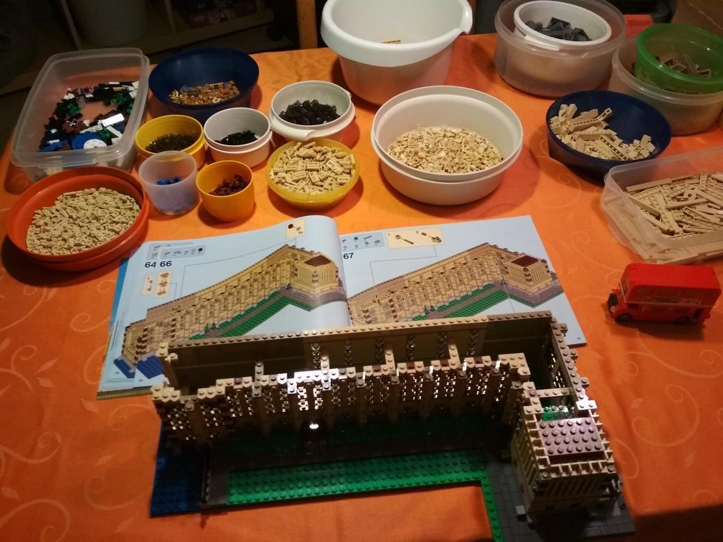 LEGO-Creator-Expert-Big-Ben-10253-Arbeitsschritt-9-Zwischenfazit