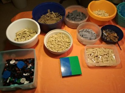 LEGO-Creator-Expert-Big-Ben-10253-Vorbereitung.