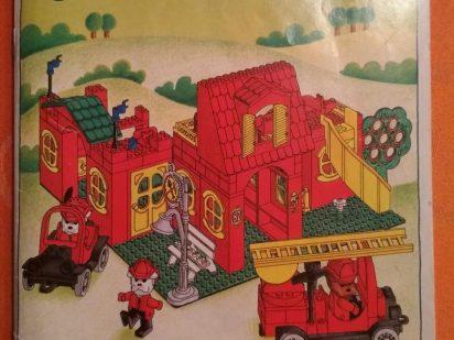 LEGO-Fabuland-Feuerwehr-3682-anleitung